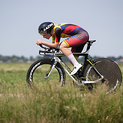 EMMEN (NED) June 16: <br /> CYCLING <br /> Loes Adegeest wins title club riders