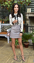 Lucy Watson at The Ivy Chelsea Garden's Annual Summer Garden Party, The Ivy Chelsea Garden, 197 King's Road, London England. 9 May 2017.<br /> Photo by Dominic O'Neill/SilverHub 0203 174 1069 sales@silverhubmedia.com