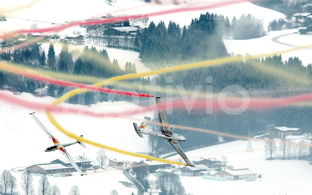 Ski Alpin;  Saison 2007/2008  18.01.2008 68. Hahnenkamm Rennen  Super G; Rahmenprogramm Red Bull Blanix Segelflieger