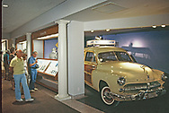 The Nixon family car exhibit at the Nixon Presidential Lbrary in Yorba Linda, CA <br />Photo by Dennis Brack. bb77