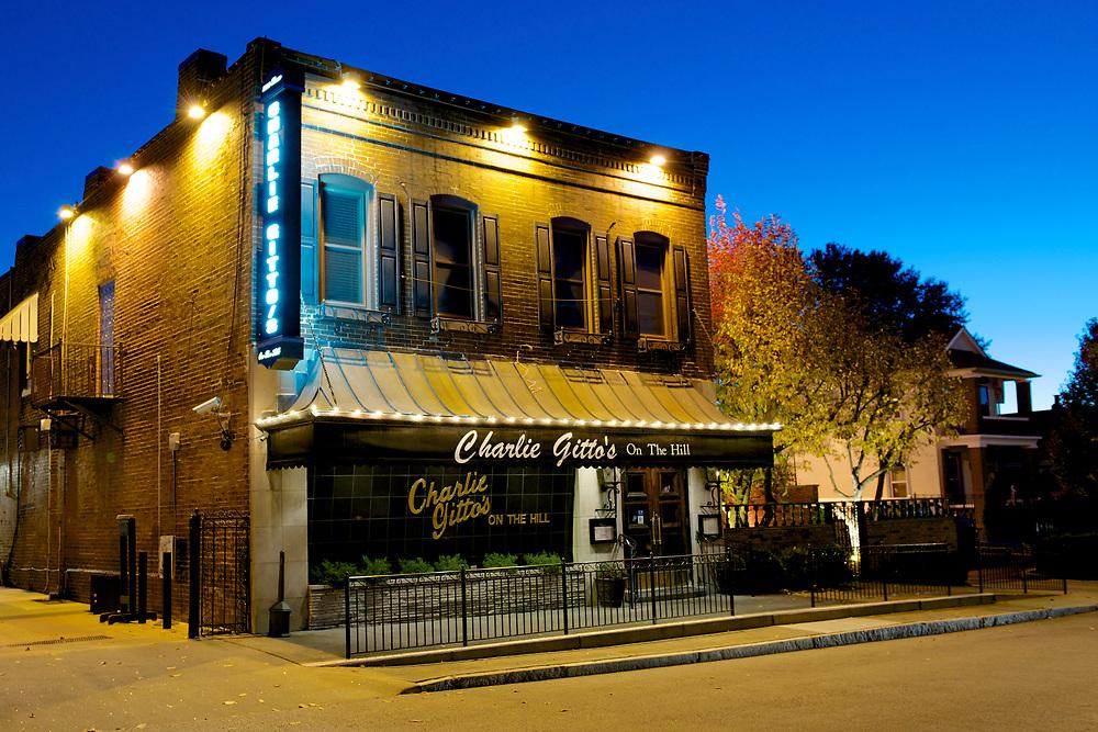 The Hill neighborhood in St. Louis, Missouri, featuring Italian heritage