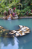 Mambukal Resort and Hot Springs serves as the gateway to Mount Kanlaon.  The hot springs were originally developed by  Kokichi Ishiwata in 1927.  Mambukal has a number of hot sulfur springs whose healing waters are a balm.  Water continually feeds into the warm pool.  Mambukal is most popular as a day trip from Bacolod but for visitors who wish to take their time overnight accommodation facilities are available.  The annual Mudpack Festival is an event one should consider as a unique event celebrating multi-colored clay.