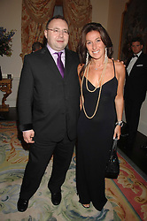 JONATHAN SHALIT and KATRINA SEDLEY at a pub style quiz night in aid of Rapt at Willaim Kent House, The Ritz, London on 25th June 2006.  The questions were composed by Judith Keppel and the winning team won £1000 to donate to a charity of their choice.<br /><br />NON EXCLUSIVE - WORLD RIGHTS
