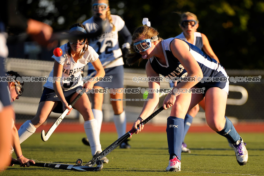 Staples High School Field Hockey.Staples defeats Wilton 2-1 in FCIAC finals..Shannon Connors
