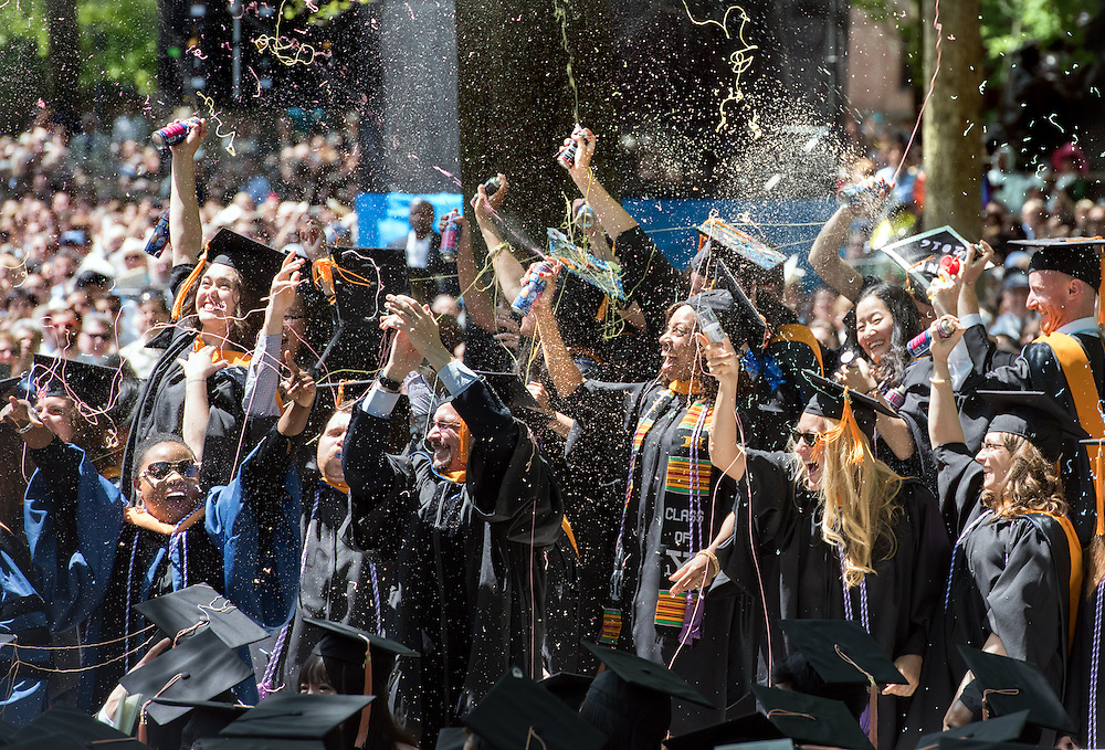 May 23, 2016 New Haven<br /> The Yale University commencement exercises. The Nursing School graduates.