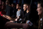 DALLAS, TX - MAY 10:  Dustin Poirier speaks to the media during the UFC 211 Ultimate Media Day at the House of Blues Dallas on May 10, 2017 in Dallas, Texas. (Photo by Cooper Neill/Zuffa LLC/Zuffa LLC via Getty Images) *** Local Caption *** Dustin Poirier