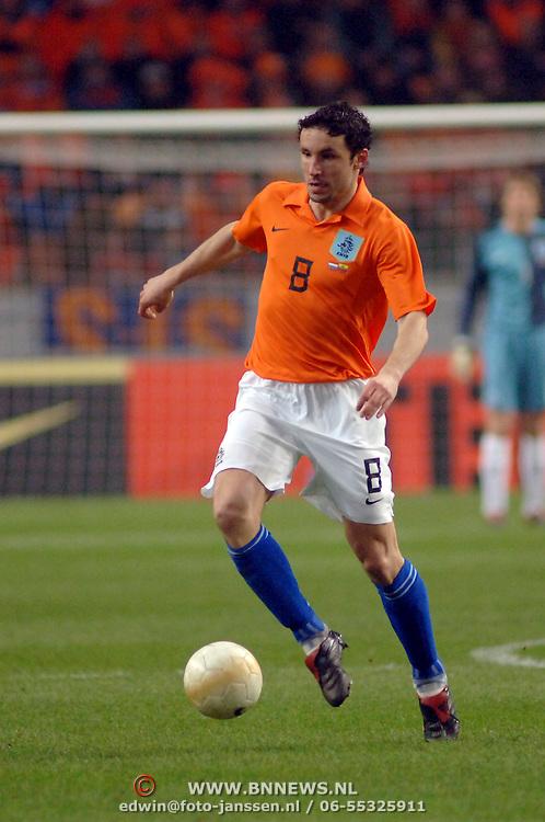 NLD/Amsterdam/20060301 - Voetbal, oefenwedstrijd Nederland - Ecuador, Mark van Bommel