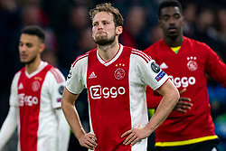 08-05-2019 NED: Semi Final Champions League AFC Ajax - Tottenham Hotspur, Amsterdam<br /> After a dramatic ending, Ajax has not been able to reach the final of the Champions League. In the final second Tottenham Hotspur scored 3-2 / Daley Blind #17 of Ajax
