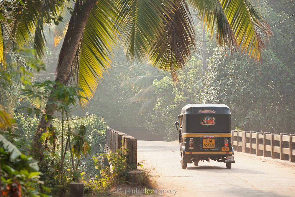 Early morning near Poovar Beach, close to Trivandrum (Thiruvananthapuram), Kerala, India
