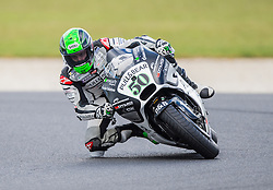 October 22, 2016 - Melbourne, Victoria, Australia - Irish rider Eugene Laverty (#50) of Pull & Bear Aspar Team in action during the 3rd MotoGP Free Practice session at the 2016 Australian MotoGP held at Phillip Island, Australia. (Credit Image: © Theo Karanikos via ZUMA Wire)
