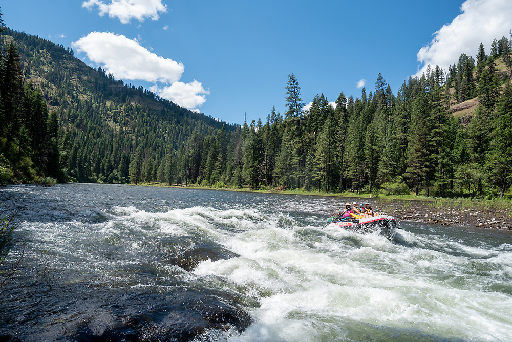 Raft trip on Oregon's Grande Ronde River.