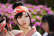 Dancer form Kochi Prefecture, Japan