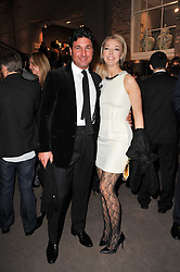 GIORGIO VERONI and TAMARA BECKWITH at the BAFTA Nominees party 2011 held at Asprey, 167 New Bond Street, London on 12th February 2011.