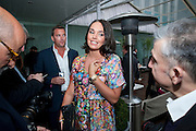 TAMARA ECCLESTONE, Launch of Total Concierge,  Fruit snow queen vodka cocktails Courtyard Garden at Sanderson Hotel. Berners St. London. 26 May 2009