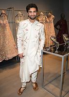 Ahad Raza Mir at the Meet and Greet for  Pernia's Pop Up Studio, at 11 Grosvenor Street Mayfair