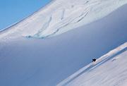 Ski Touring and Camping in the Chugach Mountains near Cordova, Alaska.<br /> <br /> Photo by David Stubbs © 2012