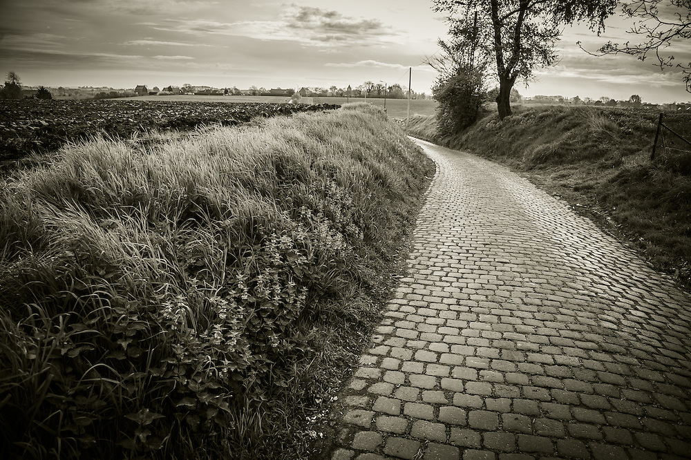 Ruiterstraat cobbles, Tour of Flanders 2014