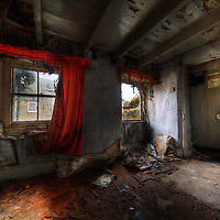 Images from an abandoned house on the Cornwall / Devon borders