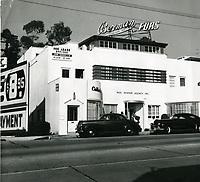 1950 Paul Kohner Agency on the Sunset Strip