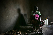 Nyathak Majok, 30, was raped by three Dinka soldiers in 2013 in Juba and gave birth to a boy as a result. She said that Dinka soldiers demanded her husband to eat the flesh of a dead Nuer man. The soldiers still killed the husband even though he complied with them, and also tried to kill her if she didn't eat the flesh of a dead Nuer man. She refused and was raped while she could hear the sounds of the gun shots.