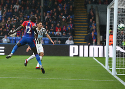 September 22, 2018 - London, England, United Kingdom - Crystal Palace's Manadou Sakho missed open goal.during Premier League between Crystal Palace and Newcastle United  at Selhurst Park Stadium , London , England on 22 Sept 2018. (Credit Image: © Action Foto Sport/NurPhoto/ZUMA Press)