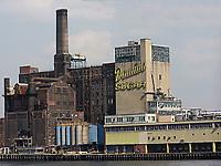Former Domino Sugar factory in Brooklyn, New York.