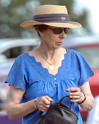 The Princess Royal at the Festival of British Eventing at Gatcombe Park, Gloucestershire.