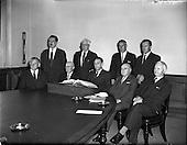 1958 - C.I.E. Board of Directors first meeting at Kingsbridge station
