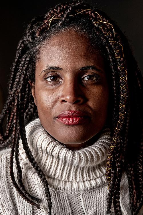Netherlands. Amsterdam, 29-11-2019. Photo: Patrick Post. Portrait of Djamila Ribeiro, a Brazilian feminist, journalist, and philosopher.