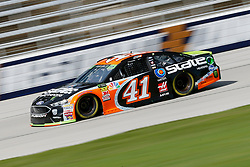 November 2, 2018 - Fort Worth, TX, U.S. - FORT WORTH, TX - NOVEMBER 02: Monster Energy NASCAR Cup Series driver Kurt Busch (41) speeds down the frontstretch during practice for the AAA Texas 500 on November 02, 2018 at the Texas Motor Speedway in Fort Worth, Texas. (Photo by Matthew Pearce/Icon Sportswire) (Credit Image: © Matthew Pearce/Icon SMI via ZUMA Press)