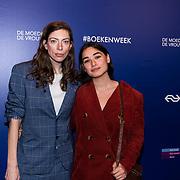 NLD/Amsterdam/20190322  - Boekenbal 2019, Hanna Bervoets en .......