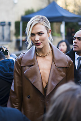 March 4, 2018 - Paris, France - Karlie Kloss is seen during Paris Fashion Week Womenswear Fall/Winter 2018/2019, on March 4, 2018 in Paris, France. (Credit Image: © Nataliya Petrova/NurPhoto via ZUMA Press)
