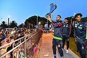 Stefano Gentile<br /> Festa Supercoppa a Sassari<br /> Zurich Connect Supercoppa LBA 2019<br /> Sassari, 23/09/2019<br /> Foto L.Canu / Ciamillo-Castoria