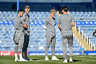 Barnsley Players Check the pitch before kick off during the EFL Sky Bet League 1 match between Portsmouth and Barnsley at Fratton Park, Portsmouth, England on 23 February 2019.