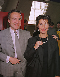 MR & MRS STEPHEN BAYLEY former head of the Dome, at a reception in London on 20th May 1999.MSH 9