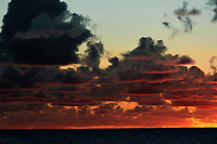 Pacific Ocean Sunrise Panorama viewed from the aft deck of the MV World Odyssey. Image 5 of 20 taken with a Nikon 1 V3 camera and 70-300 mm VR lens (ISO 200, 82 mm, f/8, 1/250 sec). Raw images processed with Capture One Pro and the panorama created using AutoPano Giga Pro.