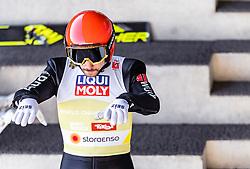24.02.2019, Bergiselschanze, Innsbruck, AUT, FIS Weltmeisterschaften Ski Nordisch, Seefeld 2019, Nordischen Kombination, Teambewerb, Skisprung, Probesprung, im Bild Fabian Riessle (GER) // Fabian Riessle of Germany during the trial jump for the team competition Nordic Combined of FIS Nordic Ski World Championships 2019. Bergiselschanze in Innsbruck, Austria on 2019/02/24. EXPA Pictures © 2019, PhotoCredit: EXPA/ JFK