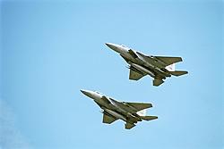 F-15 Eagles