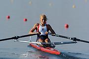 20040814 Olympic Games Athens Greece [Rowing]<br /> Photo  Peter Spurrier <br /> CZE W1X Mirka Knapkova<br /> email;  images@intersport-images.com<br /> Tel +44 7973 819 551<br /> T<br /> <br /> <br /> [Mandatory Credit Peter Spurrier/ Intersport Images]