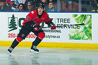 KELOWNA, BC - DECEMBER 30:  Filip Koffer #23 of the Prince George Cougars skates against the Kelowna Rockets at Prospera Place on December 30, 2019 in Kelowna, Canada. (Photo by Marissa Baecker/Shoot the Breeze)
