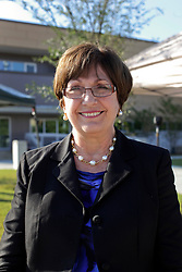 27 August 2015. Andrew P. Sanchez & Copelin-Byrd Multi Service Center, Lower 9th Ward, New Orleans, Louisiana.<br /> Former Louisiana Governor Kathleen Blanco following the event where President Barack Obama spoke at the center.<br /> Photo credit©; Charlie Varley/varleypix.com.