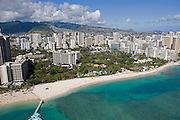 Fort Derusey, Waikiki Beach, Waikiki, Oahu, Hawaii<br />
