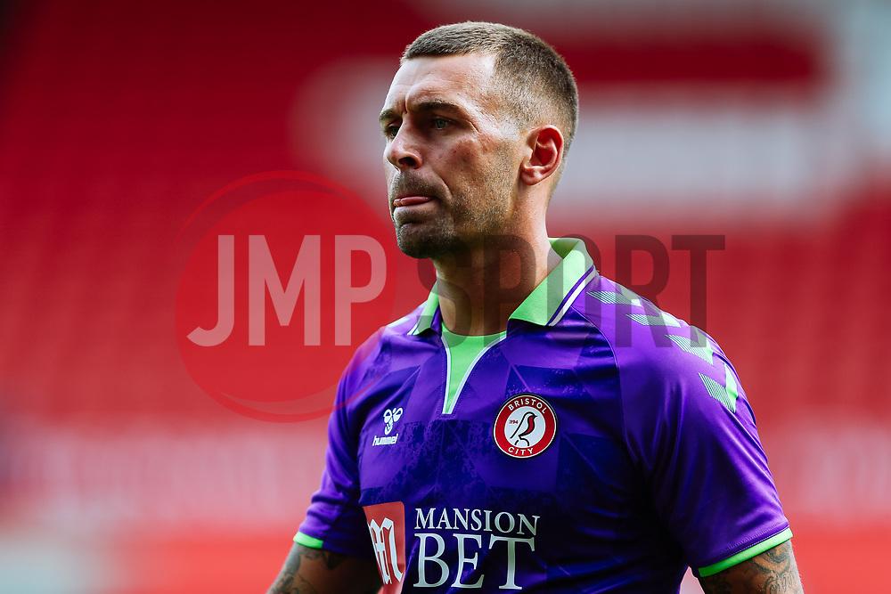 Jack Hunt of Bristol City - Rogan/JMP - 21/08/2020 - Ashton Gate Stadium - Bristol, England - Bristol City v Cheltenham Town - Pre Season Friendly.