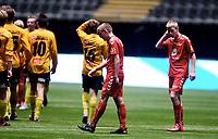 Fotball , 20 . november 2015 , NM finale G16<br /> Brann - Lillestrøm 1-4<br /> Lars Alvheim Hauge (tv) , Brann depper etter tap
