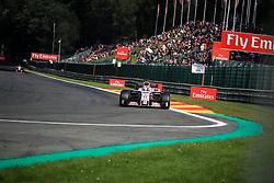 August 25, 2017 - Spa Francorchamps, Vlaanderen, belgique - Spa 25/08/2017 Formule 1 /GP F1 Belgique /Vendredi/Essais 1/.Perez N∞11 Force india (Credit Image: © Panoramic via ZUMA Press)