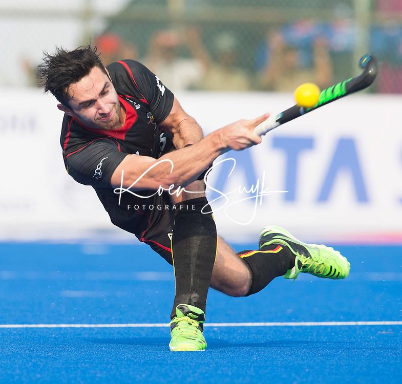 BHUBANESWAR  (INDIA)  -  Loick Luypaert of Belgium. Champions Trophy Hockey men. Day 1. Belgium vs Pakistan (2-1). PHOTO  KOEN SUYK