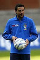 Genova 27/4/2004 <br />Amichevole Italia Spagna 1-1 - Friendly match Italy - Spain 1-1. <br />Stefano Fiore (Italy) during the training<br />Photo Andrea Staccioli / Graffiti