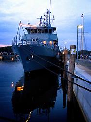 GERMANY SCHLESWIG-HOLSTEIN ECKERNFOERDE 21MAY06 - German navy supply vessel moored at port of Eckernfoerde...jre/Photo by Jiri Rezac....© Jiri Rezac 2006