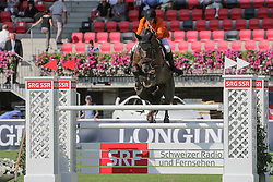 Smolders Harrie, (NED), Don VHP Z<br /> Furusiyya FEI Nations CupTM presented by Longines<br /> CSIO Sankt Gallen 2015<br /> © Hippo Foto - Stefano Secchi<br /> 05/06/15