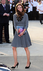 Duchess of Cambridge at Dulwich Picture Gallery